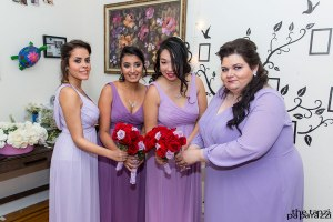 Bridal Party and flowers