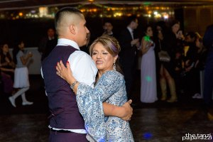 Aunt and nephew dance